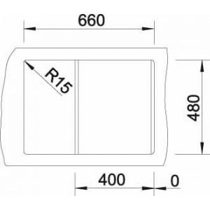 Размеры68x50 см, размеры чаши 42.2x32 см, глубина мойки17,5 см
