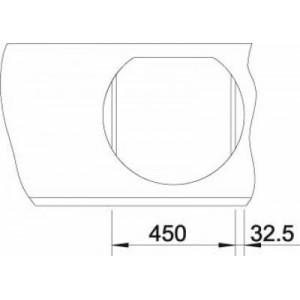 Размеры53.5x49 см, размеры чаши 39x39 см, глубина мойки 18 см