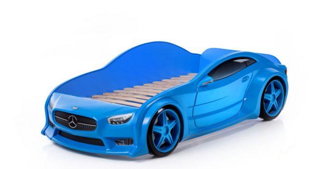 blu mercedes