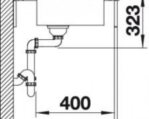 Размеры61.5 x 51 см Размеры чаши53.3 х 38 х 19 мм